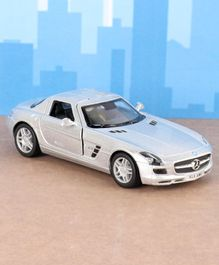 Kinsmart Die Cast Pull Back Mercedes Benz Toy Car - Silver