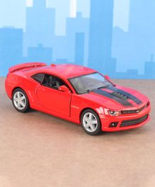Kinsmart Die Cast Pull Back 2014 Chevrolet Camaro Toy Car - Red