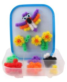 Bunchems 3D Construction Set Multicolor - 150 Pieces