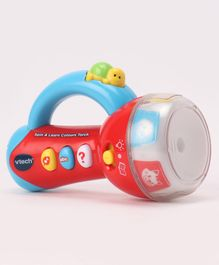 Vtech Spin & Learn Coloring Torch - Red