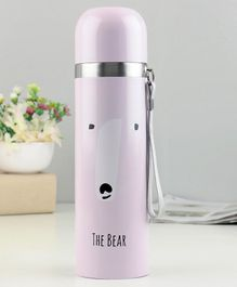 Water Bottle Printed Purple - 500 ml