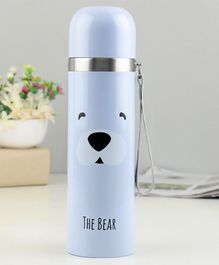 Water Bottle Printed Blue - 500 ml