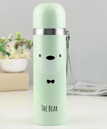 Water Bottle Printed Green - 500 ml