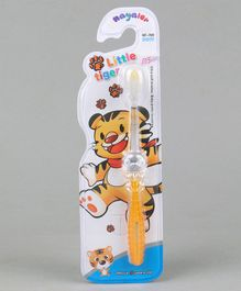 Toothbrush Tiger Design - Yellow