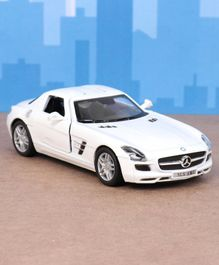 Kinsmart Die Cast Pull Back Mercedes Benz Toy Car - White