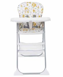 Joie Mimzy Snacker Baby High Chair Multi Print - Grey White