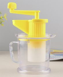 All in One Fruit and Vegetable Juicer Yellow - 350 ml