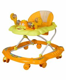 Cosmo Musical Baby Walker with Play Tray - Yellow