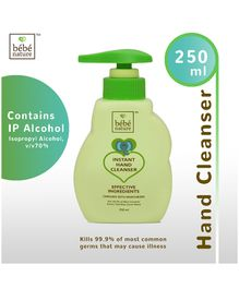 Bebe Nature Instant Hand Cleanser - 250 ml