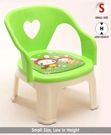 Chair with Backrest Doll Print - Green