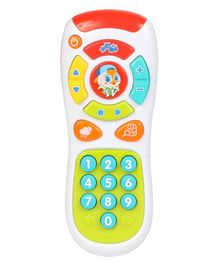Planet of Toys Baby Remote Control with Lights & Music - Multicolor