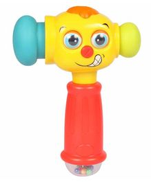 Planet of Toys Interactive Hammer Toy with Music & Lights - Multicolor