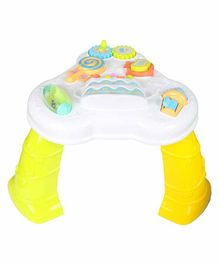 Planet of Toys Educational Activity Table with Lights & Music - Multicolor