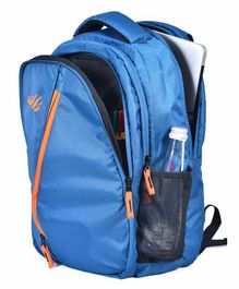 Zikki Bags Sturdy & Durable Backpack Blue - 18 Inches