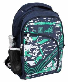 Zikki Bags School Backpack Blue - 16 Inches