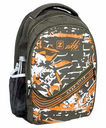 Zikki Bags School Backpack Green - 16 Inches