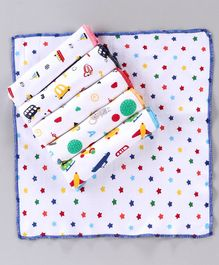 Simply Wash Cloths Multi Print Pack of 6 - Multicolour