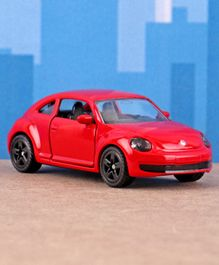 Siku Die Cast & Free Wheel VW The Beetle Toy Car - Red