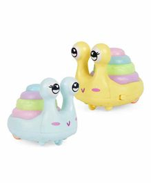 Shanaya Press & Go Snail Shaped Toy - (Assorted Color)
