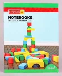 Camlin Small Unruled Notebook Buliding Bricks  Print - 164 Pages