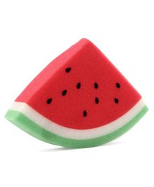 Babyhug Watermelon Shaped Bath Sponge - Red
