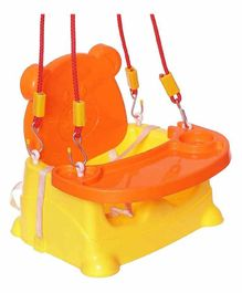 Maanit 5 in 1 Mutipurpose Booster Seat  - Orange Yellow