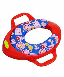 Maanit Soft Cushioned Potty Seat with Handle - Red