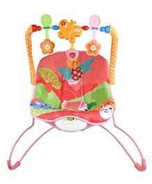 Fiddlerz Musical Baby Bouncer - Red