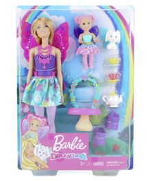 Barbie Fantasy Dolls with Accessories - Multicolor