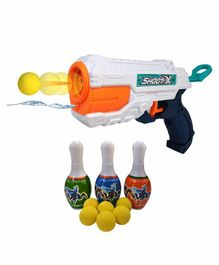 Skylofts Dual Function Shooting Water Gun - White