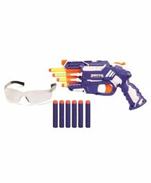 Skylofts Shooting Gun With Goggles - Blue