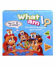 Skylofts Who Am I Card Guessing Game - Multicolor