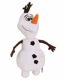Skylofts Plush Olaf Snowman Soft Toy White - Height 30 cm
