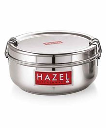 Hazel Stainless Steel Traditional Design Lunch Box - 350 ml