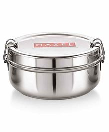 Hazel Stainless Steel Traditional Design Lunch Box -  500 ml