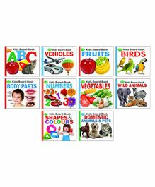 Sawan Child First Learning Experience Board Books Pack of 10 - English