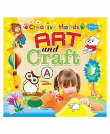 Sawan Creative Hands Art & Craft A Book - English