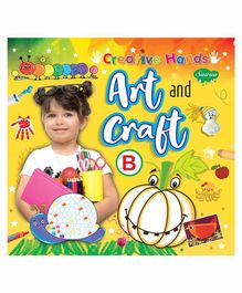 Sawan Creative Hands Art & Craft B Book - English