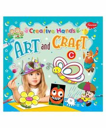 Sawan Creative Hands Art & Craft C Book - English