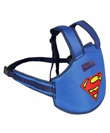 Magic Seat 2 Wheeler Kids Safety Belt Superman Print - Blue