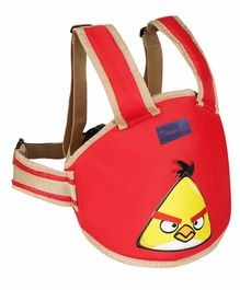 Magic Seat 2 Wheeler Kids Safety Belt Angry Bird Print - Red