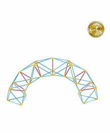 Hape Flexistix Geodesic Structures Building Set Multicolour - 117 Pieces