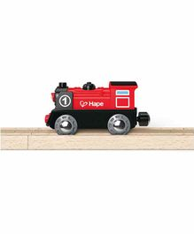 Hape Battery Powered Engine - Red