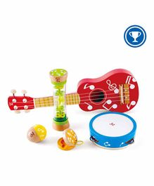 Hape Wooden Mini Band Set of 5 - Multicolour