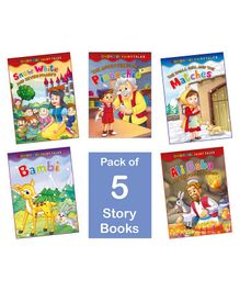 Laxmi Prakashan Wondrous Fairy Tales Books Pack of 5 - English