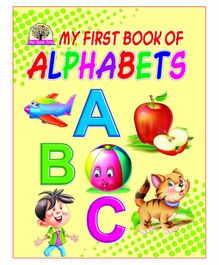 Laxmi Prakashan My First Book of Alphabet - English