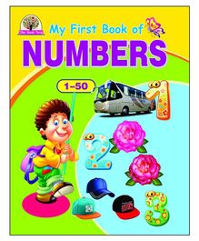 Laxmi Prakashan My First Book of Numbers 1 to 50 - English