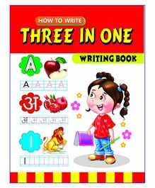 Laxmi Prakashan Three in One Writing Book - English Hindi