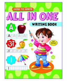 Laxmi Prakashan All in One Writing Book - English Hindi
