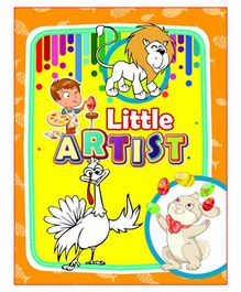 Laxmi Prakashan Little Artist Jumbo Colouring Book - English